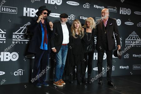 Editorial photo of Rock and Roll Hall of Fame Induction Ceremony, Press Room, Barclays Center, Brooklyn, USA - 29 Mar 2019