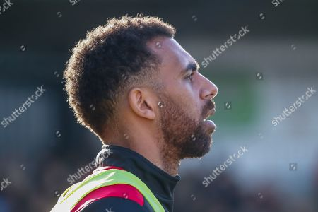 Anton Ferdinand of St Mirren loos on from the side of the park during the Ladbrokes Scottish Premiership match between St Mirren and Dundee at the Paisley 2021 Stadium, St Mirren