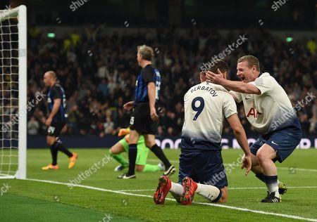 Editorial photo of Tottenham Hotspur Legends v Inter Milan Forever, Test Event, Football, Tottenham Hotspur Stadium, London, UK - 30 Mar 2019
