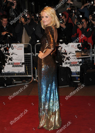 Editorial image of 'Dead Man Running' Film Premiere at Odeon Cinema, Leicester Square, London, Britain - 22 Oct 2009