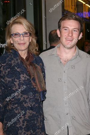Jill Clayburgh and her son Michael Rabe