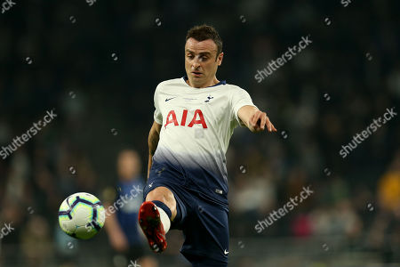 Dimitar Berbatov of Spurs Legends during Spurs Legends vs Inter Forever, Test Event Match Two Football at Tottenham Hotspur Stadium on 30th March 2019