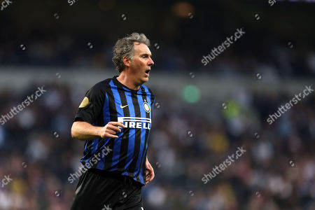 Laurent Blanc of Inter Forever during Spurs Legends vs Inter Forever, Test Event Match Two Football at Tottenham Hotspur Stadium on 30th March 2019