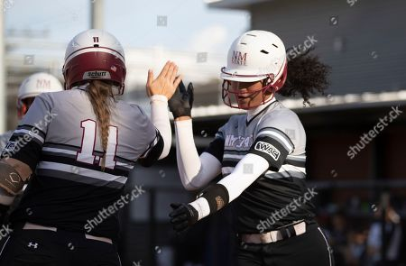 Editorial image of New Mexico State U Softball, Seattle, USA - 29 Mar 2019