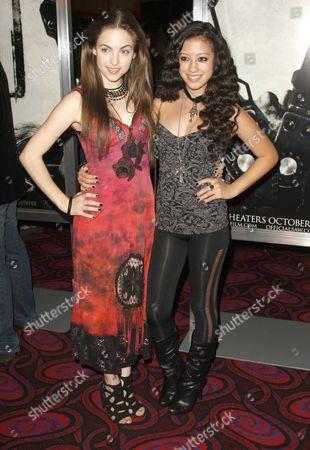 Brittanay Curran and Keana Texeira