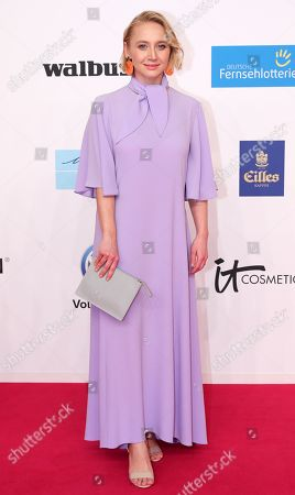Anna Maria Muehe arrives for the 54rd annual 'Goldene Kamera' (Golden Camera) film and television awards ceremony in Berlin, Germany, 30 March 2019.