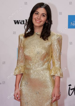 Katie Melua arrives for the 54th annual 'Goldene Kamera' (Golden Camera) film and television awards ceremony in Berlin, Germany, 30 March 2019.
