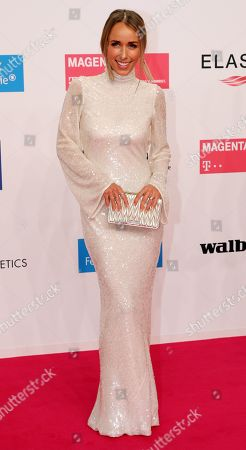 Stock Photo of Annemarie Carpendale arrives for the 54th annual 'Goldene Kamera' (Golden Camera) film and television awards ceremony in Berlin, Germany, 30 March 2019.