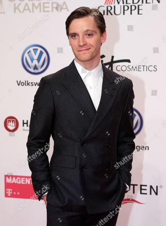 Jonas Nay arrives for the 54th annual 'Goldene Kamera' (Golden Camera) film and television award ceremony in Berlin, Germany, 30 March 2019.