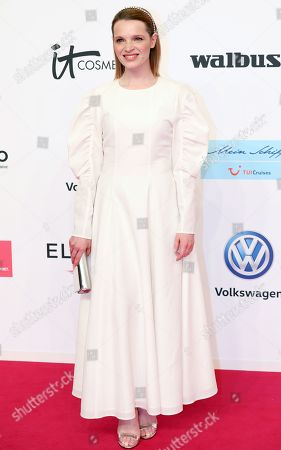 Stock Photo of Karoline Herfurth arrives for the 54th annual 'Goldene Kamera' (Golden Camera) film and television awards ceremony in Berlin, Germany, 30 March 2019. *** Local Caption *** 54147574