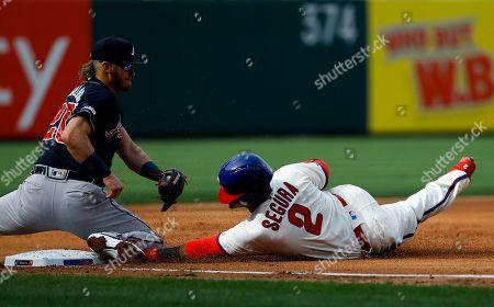 Editorial photo of Braves Phillies Baseball, Philadelphia, USA - 30 Mar 2019