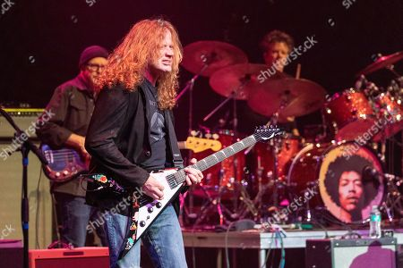 Kevin McCormick, Dave Mustaine and Chris Layton