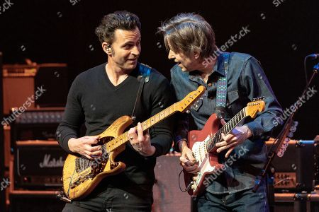Stock Photo of Dweezil Zappa and Eric Johnson