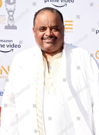 Stock Picture of Roland Martin arrives at the 50th annual NAACP Image Awards, at the Dolby Theatre in Los Angeles