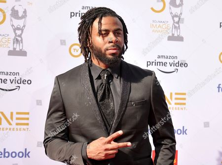 Stock Picture of Sage the Gemini arrives at the 50th annual NAACP Image Awards, at the Dolby Theatre in Los Angeles