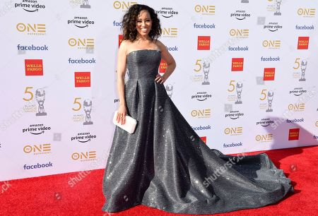 Dawn-Lyen Gardner arrives at the 50th annual NAACP Image Awards, at the Dolby Theatre in Los Angeles