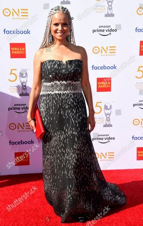 Victoria Rowell arrives at the 50th annual NAACP Image Awards, at the Dolby Theatre in Los Angeles