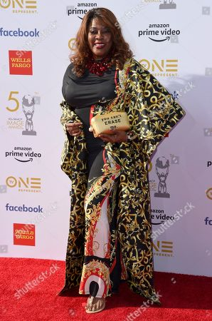 Loretta Devine arrives at the 50th annual NAACP Image Awards, at the Dolby Theatre in Los Angeles