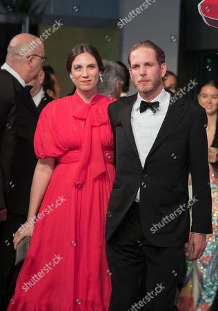 Stock Picture of Andrea Casiraghi and Tatiana Santo Domingo