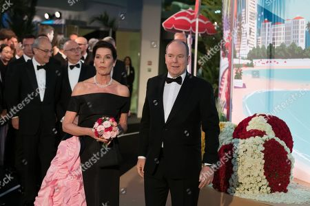 Prince Albert II of Monaco and Princess Caroline of Hanover