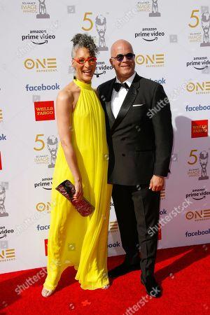 Stock Image of Carla Hall and Matthew Lyons