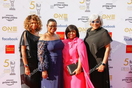 Yolanda Caraway, Leah D. Daughtry, Minyon Moore, and Donna Brazile