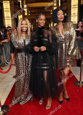Mona Scott-Young and Letitia Wright