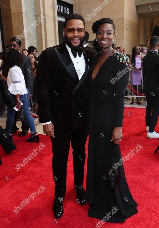 Anthony Anderson and Alvina Stewart