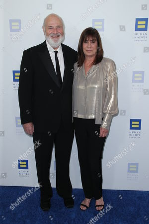 Stock Image of Rob Reiner and Michele Singer Reiner