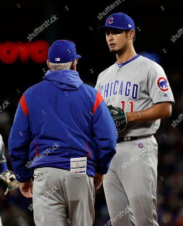 05e7660ebf2 Chicago Cubs v Texas Rangers Stock Photos (Exclusive)