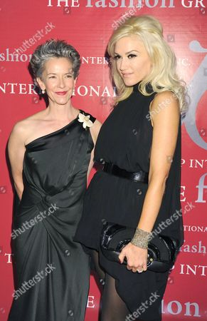 Catherine Walsh and Gwen Stefani