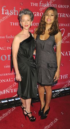 Catherine Walsh and Eva Mendes