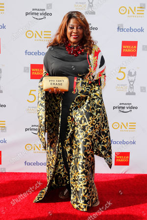 Loretta Devine poses for the photographers upon her arrival for the 50th NAACP Image Awards at the Dolby Theatre in Hollywood, California, USA, 30 March 2019. The NAACP Image awards honor excellence in television, recording and motion picture categories.