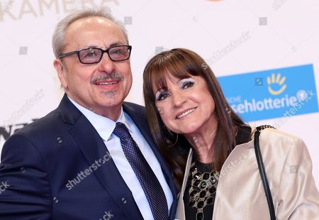 Wolfgang Stumph and his wife Renate arrive for the 54th annual 'Goldene Kamera' (Golden Camera) film and television award ceremony in Berlin, Germany, 30 March 2019.
