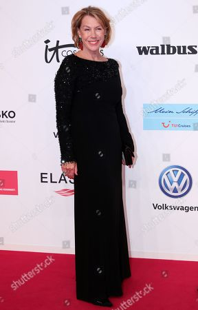 Gaby Dohm arrives for the 54th annual 'Goldene Kamera' (Golden Camera) film and television award ceremony in Berlin, Germany, 30 March 2019.