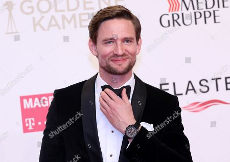 August Wittgenstein arrives for the 54th annual 'Goldene Kamera' (Golden Camera) film and television award ceremony in Berlin, Germany, 30 March 2019.