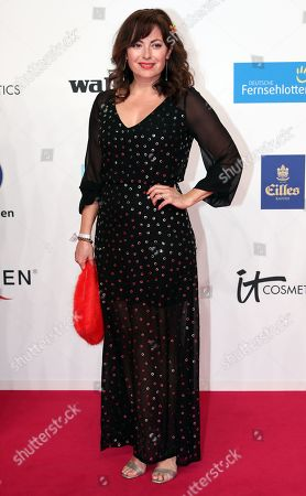 Carolina Vera arrives for the 54th annual 'Goldene Kamera' (Golden Camera) film and television award ceremony in Berlin, Germany, 30 March 2019.