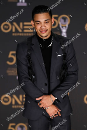 Roshon Fegan poses during the 50th NAACP Image Awards at the Dolby Theatre in Hollywood, California, USA, 30 March 2019. The NAACP Image awards honor excellence in television, recording and motion picture categories.
