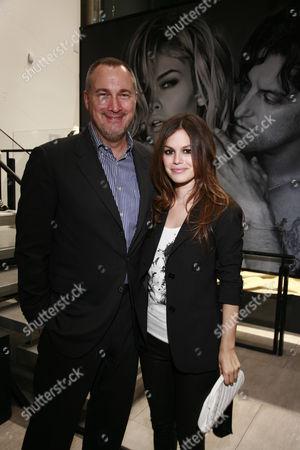 Edward Menicheschi and Rachel Bilson