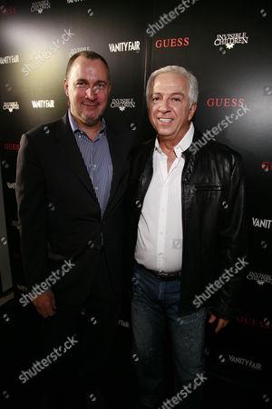 Edward Menicheschi and Paul Marciano