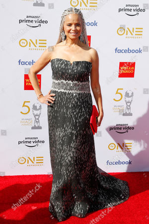 Victoria Rowell poses for the photographers upon arrival for the 50th NAACP Image Awards at the Dolby Theatre in Hollywood, California, USA, 30 March 2019 (issued 31 March 2019). The NAACP Image awards honor excellence in television, recording and motion picture categories.