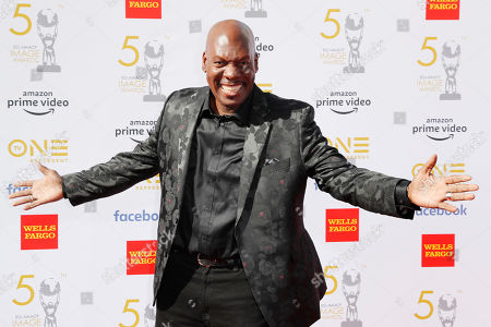 Ben Tankard poses for the photographers upon arrival for the 50th NAACP Image Awards at the Dolby Theatre in Hollywood, California, USA, 30 March 2019 (issued 31 March 2019). The NAACP Image awards honor excellence in television, recording and motion picture categories.
