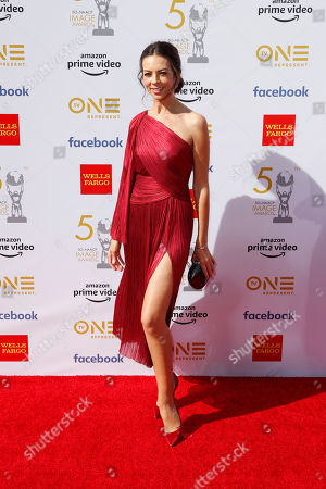 Editorial picture of 50th NAACP Image Awards - Arrivals, Hollywood, USA - 30 Mar 2019
