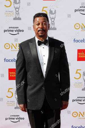 Stock Picture of Robert Townsend poses for the photographers upon arrival for the 50th NAACP Image Awards at the Dolby Theatre in Hollywood, California, USA, 30 March 2019 (issued 31 March 2019). The NAACP Image awards honor excellence in television, recording and motion picture categories.