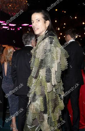 Jorge Gonzalez attends the 'Goldene Kamera' (Golden Camera) 2019 after party at Tempelhof Airport in Berlin, Germany, 30 March 2019.