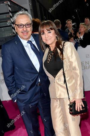 Stock Photo of Wolfgang Stumph and wife Christine Stumph