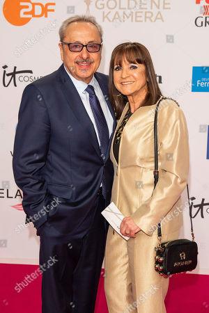 Wolfgang Stumph and wife Christine Stumph