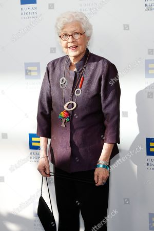 Stock Image of Betty DeGeneres attends the Human Rights Campaign 2019 Los Angeles Dinner at JW Marriott Los Angeles at L.A. LIVE in Los Angeles, California, USA, 30 March 2019 (issued 31 March 2019). The Human Rights Campaign is America's largest civil rights organization working to achieve equality for lesbian, gay, bisexual, transgender and queer people.
