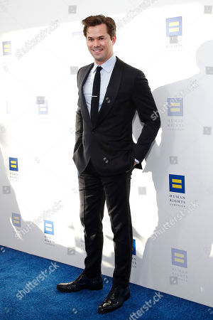 Luke Macfarlane attends the Human Rights Campaign 2019 Los Angeles Dinner at JW Marriott Los Angeles at L.A. LIVE in Los Angeles, California, USA, 30 March 2019 (issued 31 March 2019). The Human Rights Campaign is America's largest civil rights organization working to achieve equality for lesbian, gay, bisexual, transgender and queer people.