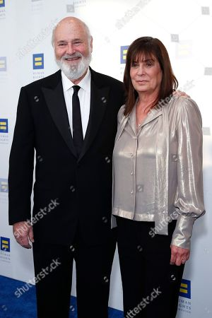 Stock Picture of Michele Singer Reiner attend the Human Rights Campaign 2019 Los Angeles Dinner at JW Marriott Los Angeles at L.A. LIVE in Los Angeles, California, USA, 30 March 2019 (issued 31 March 2019). The Human Rights Campaign is America's largest civil rights organization working to achieve equality for lesbian, gay, bisexual, transgender and queer people.